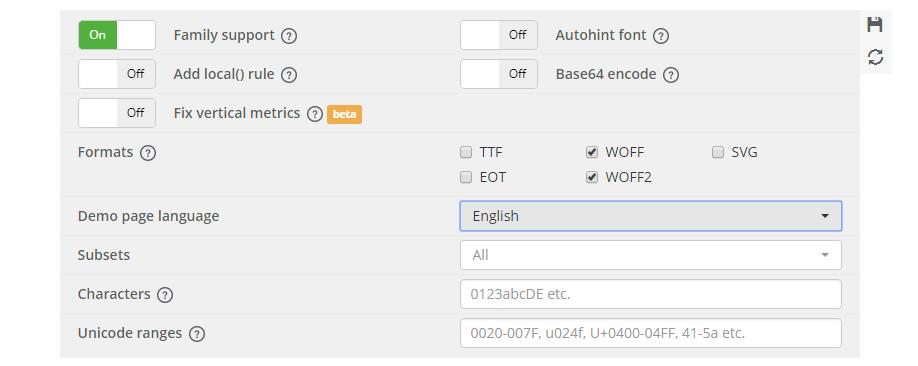 añadir tipografía a una web